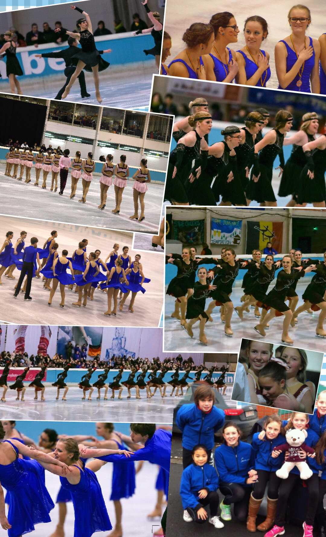 Synchro Teams Collage 2014