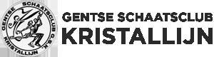 Gentse Schaatsclub Kristallijn Logo